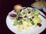Oscar's Supreme Salad with Raspberry Vinaigrette